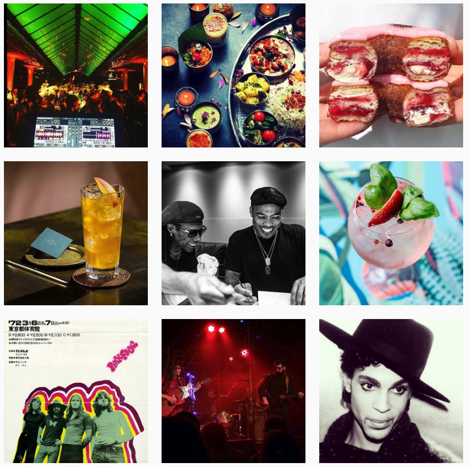 Music consultancy and playlists for restaurants, bars, events and brands images of 8track Music Instagram